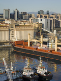 Ships in Naples Port, Campania, Italy, Europe Photographic Print by Richard Cummins
