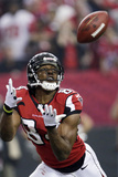 NFL Playoffs 2013: Seahawks vs Falcons - Roddy White Photo av Dave Martin