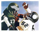 Violence in Pro Football Limited Edition by Robert Lambaise