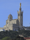 Notre Dame de La Garde Church, Marseilles, Bouches du Rhone, Provence, France, Europe Photographic Print by Rolf Richardson