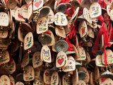 Close-Up of Wind-Bells Hung by People Making Wishes, Lijiang Old Town, Lijiang, Yunnan, China, Asia Photographic Print by Lynn Gail