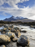 View of the Black Cuillin Mountain Sgurr Nan Gillean, Glen Sligachan, Isle of Skye, Scotland Photographic Print by Chris Hepburn