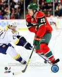 Ryan Suter 2012-13 Action Photographie