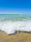 Crystal Clear Blue Sea at Surfers Paradise, Gold Coast, Queensland, Australia, Pacific Fotografie-Druck von Matthew Williams-Ellis