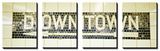 USA, New York City, Subway Sign Posters by Panoramic Images 
