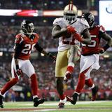 NFL Playoffs 2013: Falcons vs 49ers - Frank Gore Plakater av David Goldman