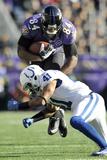 NFL Playoffs 2013: Colts vs Ravens - Ed Dickson Photo av Gail Burton