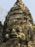 North Gate, Angkor Thom, Angkor Archaeological Park, UNESCO World Heritage Site, Cambodia Photographic Print by Richard Maschmeyer