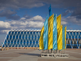 Palace of Independence, Astana, Kazakhstan, Central Asia, Asia Photographic Print by Jane Sweeney