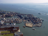 View of Old Portsmouth from Spinnaker Tower, Portsmouth, Hampshire, England, United Kingdom, Europe Photographic Print by Ethel Davies