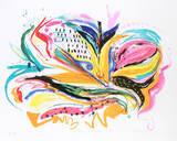 Bird of Paradise IV Collectable Print by Vick Vibha