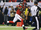 NFL Playoffs 2013: Falcons vs 49ers - Julio Jones Photographic Print by David Goldman