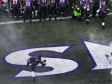 NFL Playoffs 2013: Colts vs Ravens - Ray Lewis Photographic Print by Patrick Semansky