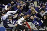 NFL Playoffs 2013: Patriots vs Ravens - Ray Rice Photographic Print by Steven Senne