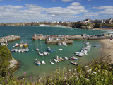 View over the Harbour, Newquay, Cornwall, England Photographic Print by Stuart Black