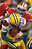 NFL Playoffs 2013: Packers vs 49ers - Patrick Willis Photographic Print