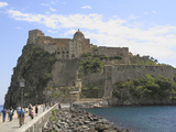 Castle, Island of Ischia, Campania, Italy, Mediterranean, Europe Photographic Print by Rolf Richardson