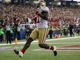 NFL Playoffs 2013: Falcons vs 49ers - Frank Gore Fotografisk trykk av Mark Humphrey