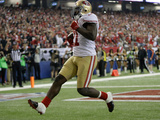 NFL Playoffs 2013: Falcons vs 49ers - Frank Gore Photographic Print by Mark Humphrey