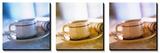 Coffee Cup Triptych - Tablo