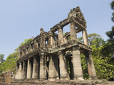 Preah Khan, Angkor Archaeological Park, UNESCO World Heritage Site, Siem Reap, Cambodia Photographic Print by Richard Maschmeyer