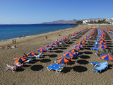 Playa Grande, Puerto del Carmen, Lanzarote, Canary Islands, Spain, Atlantic, Europe Photographic Print by Stuart Black