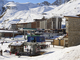 Chair Lift, Tignes, Savoie, Rhone-Alpes, French Alps, France, Europe Photographic Print by Matthew Frost
