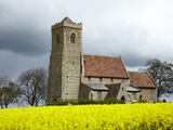 St. Andrew's Church, Wood Walton, Cambridgeshire, England, United Kingdom, Europe Photographic Print by Mark Mawson