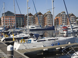 Wet Dock Waterfront Regeneration, Ipswich, Suffolk, England, United Kingdom, Europe Photographic Print by Ian Murray
