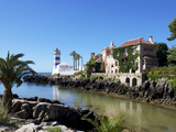 Lighthouse, Cascais, Portugal, Europe Photographic Print by Jeremy Lightfoot