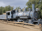Old Steam Locomotive, Furnace Creek, Death Valley, California, USA, North America Photographic Print by Robert Harding Productions 