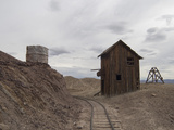 Old Silver Mine in a Ghost Town, Calico, Yermo, Mojave Desert, California, USA, North America Photographic Print by Antonio Busiello