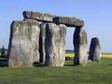 Standing Stone Circle of Stonehenge, 3000-2000BC, UNESCO World Heritage Site, Wiltshire, England Photographic Print by Ethel Davies