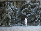 Sculpture, National Museum of the History of the Great Patriotic War 1941-1945, Kiev, Ukraine Photographic Print by Graham Lawrence