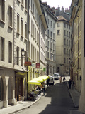 Street Scenes from Geneva Old Town, Geneva, Switzerland, Europe Photographic Print by Matthew Frost