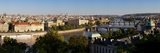 View of the River Vltava and Bridges, Prague, Czech Republic, Europe Photographic Print by Gavin Hellier