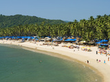 View over Palolem Beach, Palolem, Goa, India, Asia Photographic Print by Stuart Black