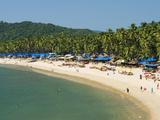 View over Palolem Beach, Palolem, Goa, India, Asia Photographic Print by Stuart Black