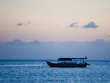 Fishing Boat, Sengiggi Beach, Lombok, Indonesia, Southeast Asia, Asia Photographic Print by Matthew Williams-Ellis
