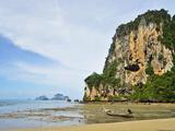 Ton Sai Bay, Rai Leh (Railay), Andaman Coast, Krabi Province, Thailand, Southeast Asia, Asia Photographic Print by Jochen Schlenker