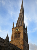 The Crooked Spire at the Parish Church of St Mary and All Saints, Chesterfield, Derbyshire, England Photographic Print by Mark Sunderland