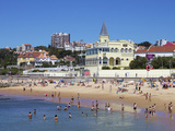 Tamariz Beach, Estoril, Portugal, Europe Photographic Print by Jeremy Lightfoot