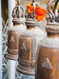 Buddhist Prayer Bells, Wat Intharawihan, Bangkok, Thailand, Southeast Asia, Asia Photographic Print by Matthew Williams-Ellis