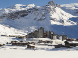 Val Claret, Highest Village in Tignes, Savoie, Rhone-Alpes, French Alps, France, Europe Photographic Print by Matthew Frost