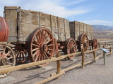Old Carts, Harmony Borax Works, Death Valley, California, United States of America, North America Photographic Print by Robert Harding Productions 