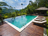 Swimming Pool Area at Luxury Accommodation Near Ubud, Bali, Indonesia, Southeast Asia, Asia Photographic Print by Matthew Williams-Ellis