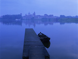 Dawn Mist over Old Town and Lake Inferiore, Mantua, Lombardy, Italy, Europe Photographic Print by Stuart Black