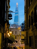The Shard from City of London, London, England, United Kingdom, Europe Photographic Print by Frank Fell
