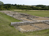 North Leigh Roman Villa, Remains of Manor Dating from 1st-3rd Century AD, North Leigh, England Photographic Print by Ethel Davies