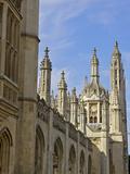 Kings College Chapel, University of Cambridge, Cambridge, England Photographic Print by Simon Montgomery